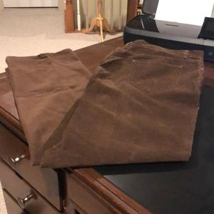 Brooks Brothers corduroy pants 36/34